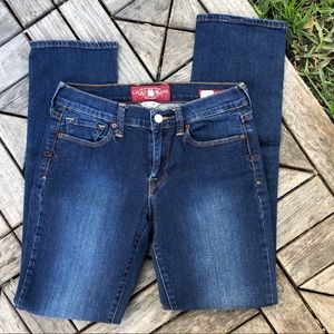 Lucky Brand Sofia Straight Ankle Jeans Size 2